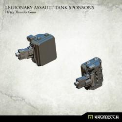 Legionary Assault Tank Sponsons: Heavy Thunder Guns (1)