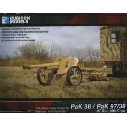 Pak 38 / Pak 97/38 Anti Tank Gun with Crew