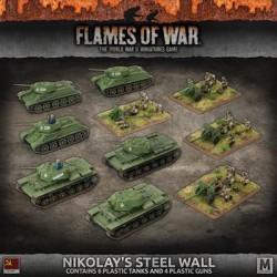 Nikolay's Steel Wall Army Deal (Plastic)