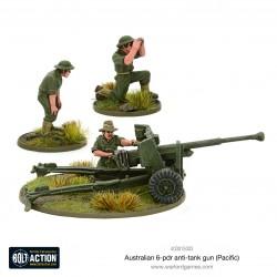 Australian 6-pdr Anti-tank Hun