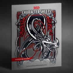 Dungeons & Dragons RPG Hojas de Personaje (24) (Ingles)