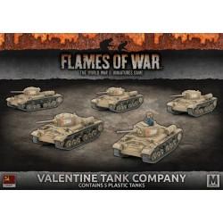 Valentine Tank Company (x5 Plastic)