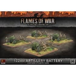 122mm Artillery Battery (x4 Plastic)