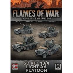 Sd KfZ 10/4 Light AA Platoon (x4)