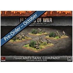 76mm Anti-Tank Company (x4 Plastic)