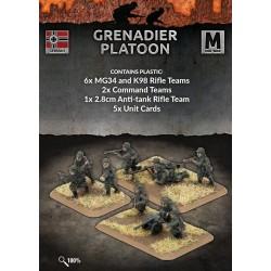 Grenadier Platoon (40 figs Plastic)