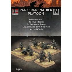 Panzergrenadier Platoon (40 figs Plastic)