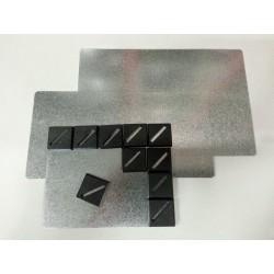 Base Metálica de 150x25mm