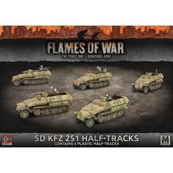 Sd.Kfz. 251 Transport (5) Plastic