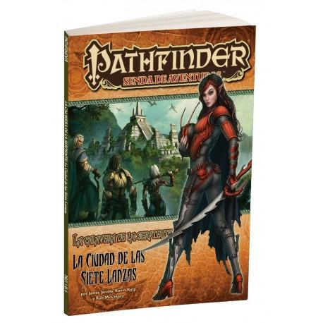Pathfinder - La Calavera de la Serpiente 3: La Ciudad de las Siete Lanzas (Spanish)