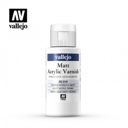 Matt Varnish 60ml.