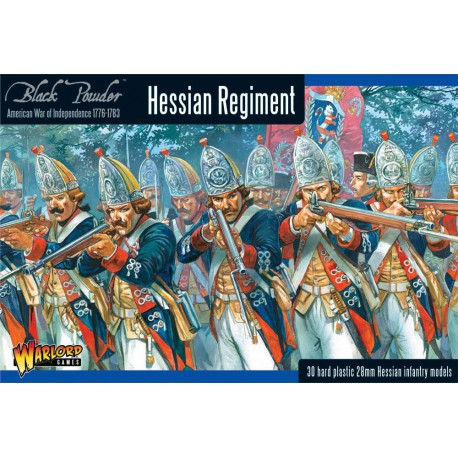 Hessian Regiment (Plastic Box)