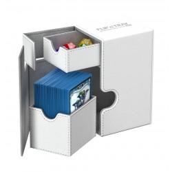 Flip'n'Tray 80+ Caja de Cartas Tamaño Estándar XenoSkin Blanco