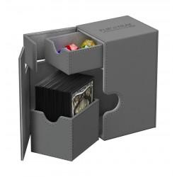 Flip'n'Tray 80+ Caja de Cartas Tamaño Estándar XenoSkin Gris