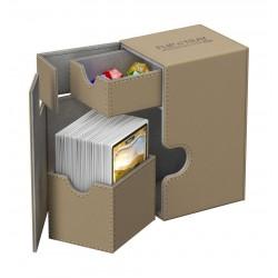 Flip'n'Tray 80+ Caja de Cartas Tamaño Estándar XenoSkin Beige