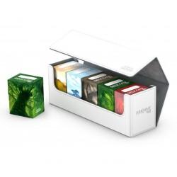 Arkhive 400+ Caja de Cartas Tamaño Estándar XenoSkin Blanco