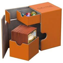 100+ Xenoskin Flip n Tray Deck Case Box - Orange