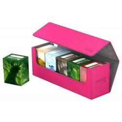Arkhive 400+ Caja de Cartas Tamaño Estándar XenoSkin Fucsia