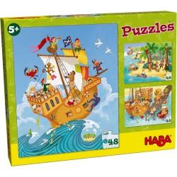 3 Puzzles Piratas (Spanish)