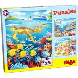 3 Puzzles en El Mar (Spanish)