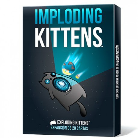 Imploding Kittens (Castellano)