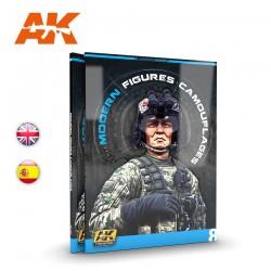 Camuflajes Modernos Para Figuras (AK Lerning Series Nº 8) Spanish