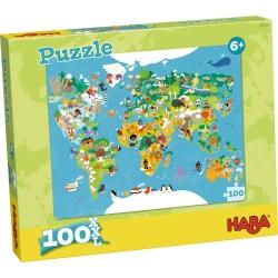 Puzzle Mapamundi (Spanish)