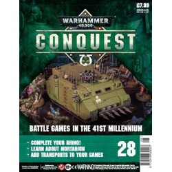 Warhammer 40000: Conquest - Fascículo 28 Rhino Parte 2/2