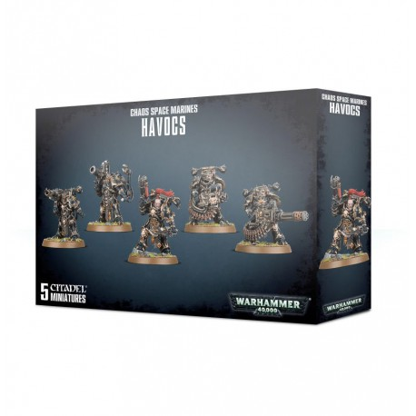 Chaos Space Marines Havocs (5)