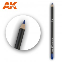 Watercolor Pencil Dark Blue