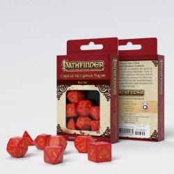 Pathfinder Curse of the Crimson Throne Dice Set (7)