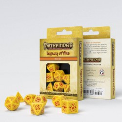Pathfinder Legacy of Fire Dice Set (7)