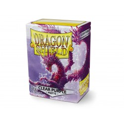 Dragon Shield Sleeves: Matte Clear Purple (100)