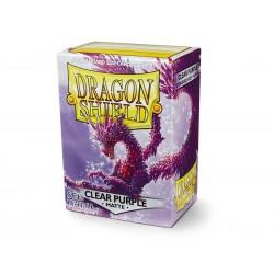 Fundas Dragon Shield: Matte Clear Purple (100)