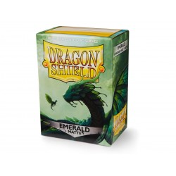 Fundas Dragon Shield: Matte Emerald (100)