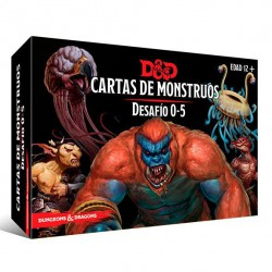 Dungeons & Dragons: Cartas de Monstruos. Desafío 0-5