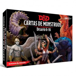 Dungeons & Dragons: Cartas de Monstruos. Desafío 6-16  (Spanish)