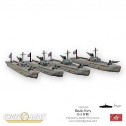 Soviet G-5 MTBs