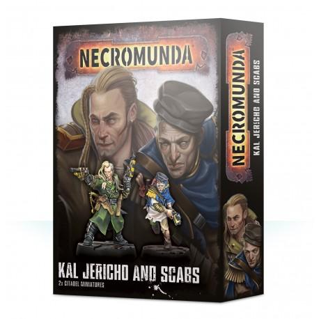 Necromunda Kal Jericho and Scabs (2)
