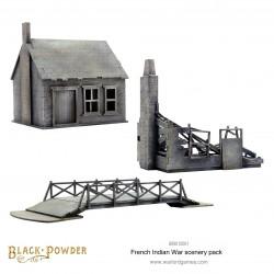 French Indian War Scenery Pack