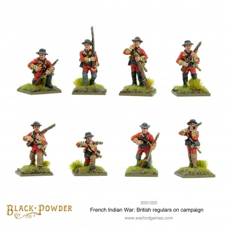 FIW British Regulars on Campaign