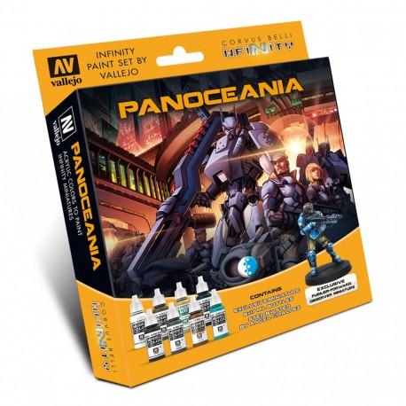Model Color Set: Infinity Panoceania + Fusilero (Observador de Artillería)