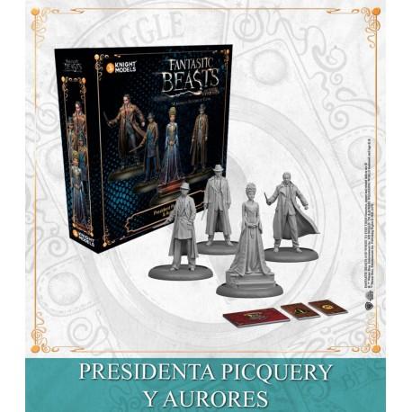 Presidenta Picquery y Aurores (Castellano)