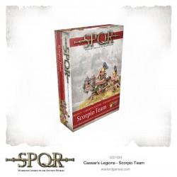 SPQR: Caesar's Legions Scorpio Team