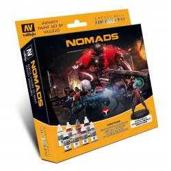 Model Color Set: Infinity Nomads + Alguacil Medikit