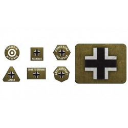 German LW Tokens (20) + Objectives (2)