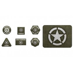 American LW Tokens (20) + Objectives (2)