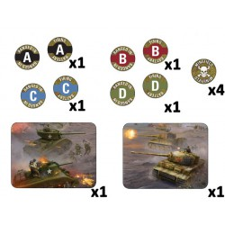 Late War Mission Token Set (14)