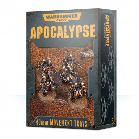 Apocalypse Movement Trays (40mm)