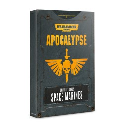 Apocalypse Datasheets: Space Marines (Inglés)
